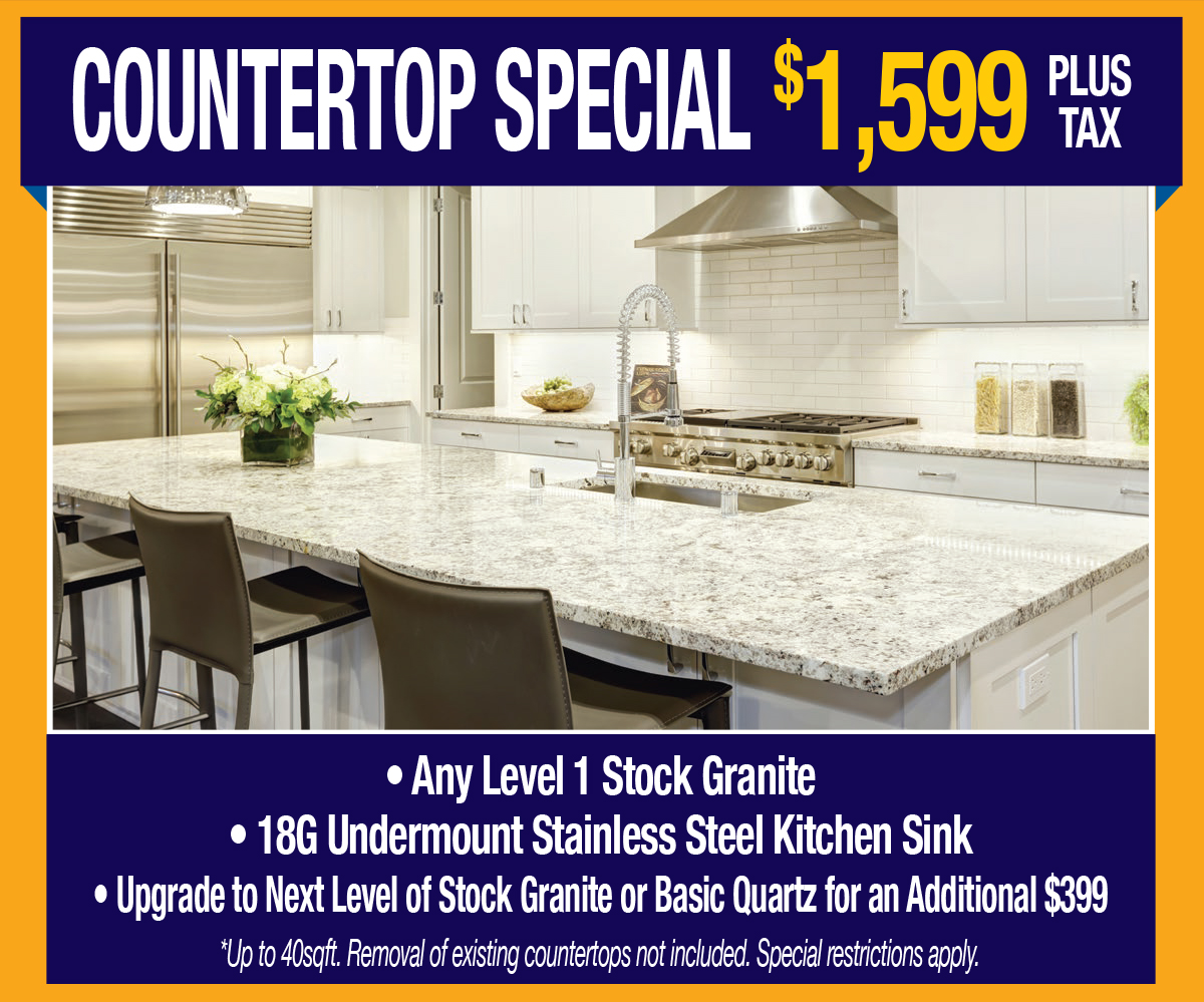 Countertop Special Banner Ad