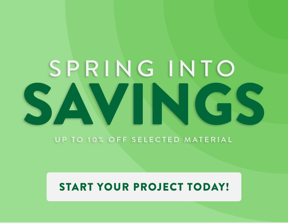 Spring Savings Ad Banner