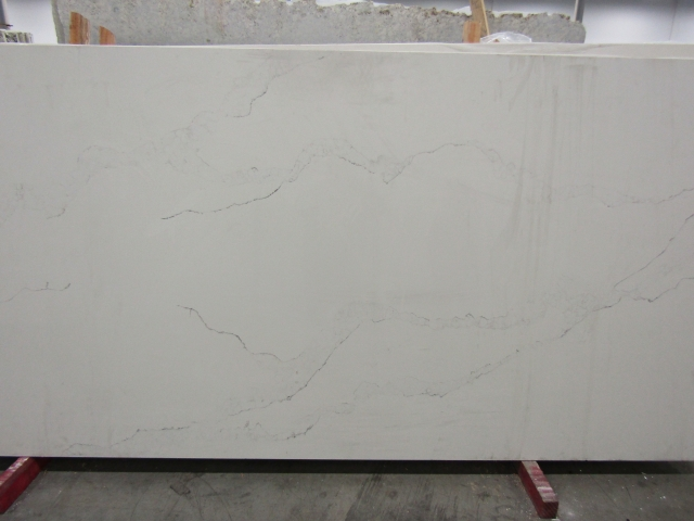Espresso Kitchen Cabinets White Quartz