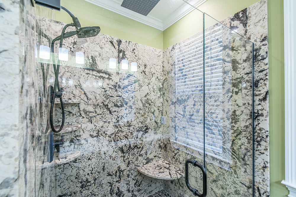 Delicatus Granite Shower